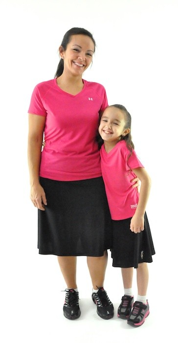 Dressing For His Glory Athletic Exercise Skirt Ladies