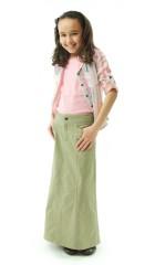 Long Corneado Skirt  / Girls