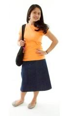 Short  Corneado Skirt / Junior