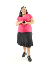 Athletic Exercise Skirt / Womens Plus Size