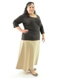 Long Dress Skirt  / Womens Plus Size