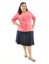 Short Corneado Skirt / Womens Plus Size