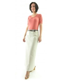 Long Jean Skirt / Ladies