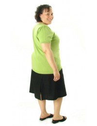 Flare Skort / Womens Plus Size