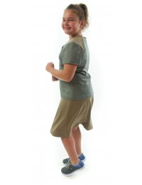 Athletic Exercise Skirt  / Girls Plus Size