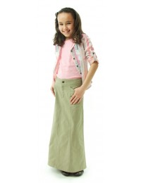 Long Corneado Skirt  / Girls