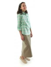 Long Jean Skirt  / Girls