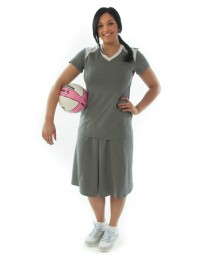 Athletic Two Pleater Culottes / Ladies
