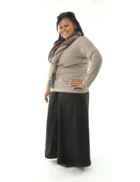 Long Corneado  Skirt / Womens Plus Size
