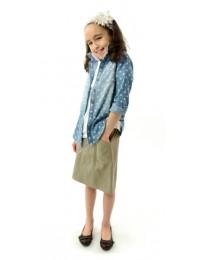 Short Corneado Skirt  / Girls