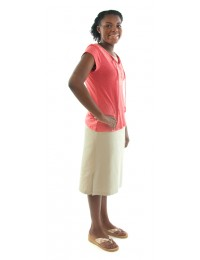 Straight Skort / Cotton / Junior