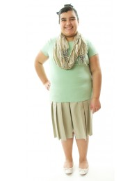 Traditional Culottes / Cotton  / GIRLS PLUS SIZE