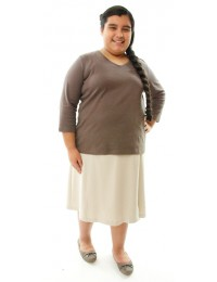Flare Skort / Girls Plus Size