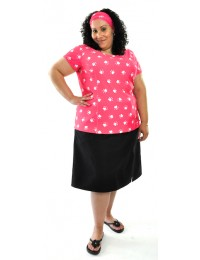 Swim Flare Skort / Womens Plus Size