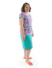 Swim Straight Skort / Womens Plus Size
